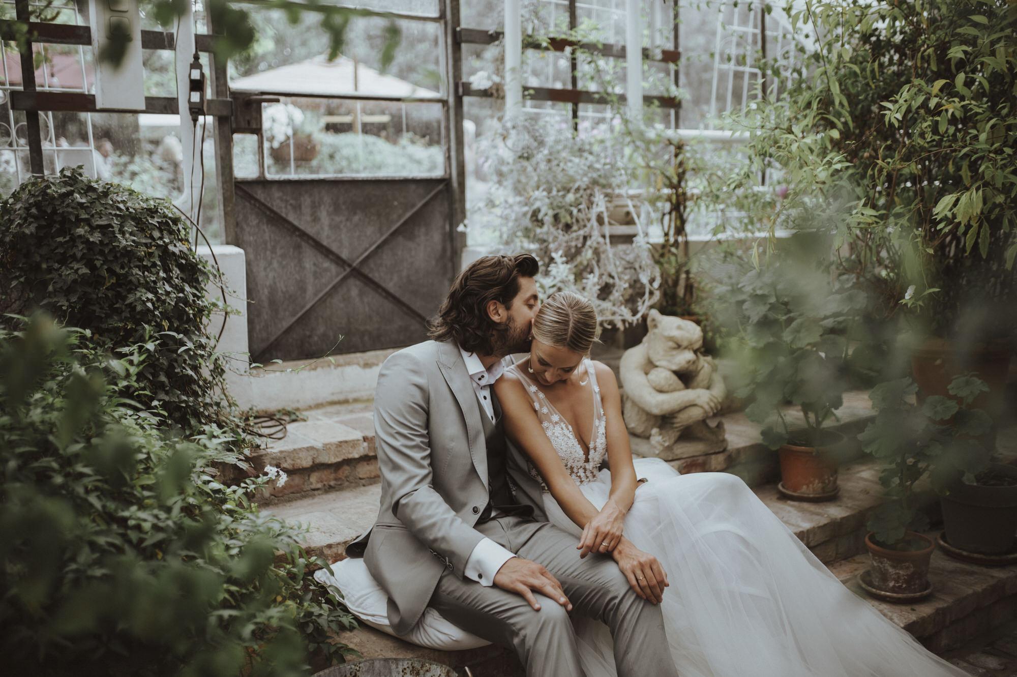 Hochzeit in der alten Gärtnerei Taufkirchen